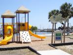 Cedar Key Playground is less than a block walk