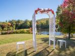 You can plan your wedding at the recreational center