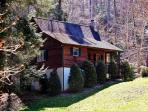 Welcome to 'Creek Melody,' a charming Valle Crucis vacation rental cabin.
