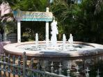 Our Fountain Welcomes you to Siesta Palms