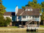 Spinnaker Waterfront Home from the Water