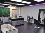 Salon Services Include Hair, Nails, Facials, Massages...