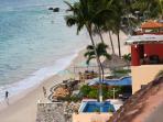View of Villa Karaway from the building lobby.Gina Burg - 5280 Shutter Bug Photo