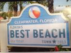 Voted best beach town in 2013 !