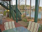 Lower Level Patio, Walk Way to Dock,Grill, Sandbox, Seating for 12,Canoes,Kayaks