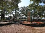 Your kids will love playing on this nearby playground.