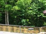 Fenced yard off of front deck!! Just added in May 2015!!