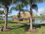 New Palapa Pavilion is great for parties, receptions or just relaxing.