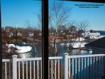 Harbor view from rear bedroom.