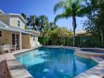 Backyard with Heated Pool/Spa and Patio