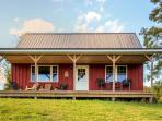 Choose this gorgeous Mayville vacation rental cabin for your next peaceful escape to rural New York!