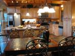Gourmet Kitchen from Dining Area