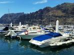 Boats, fishing in Los Gigantes
