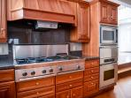 You'll love preparing meals in the gourmet kitchen