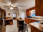 You'll love preparing your favorite meals in the beautiful fully equipped kitchen.