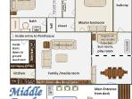 Middle Earth floor plan. Sun room is part of dining, semi-private.
