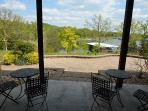 2nd huge patio walks right down to the lake - great spot for morning coffee.