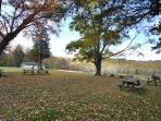 Picnic Area nearby and Outdoor Pool in the Summer