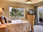 Bedroom 4 with views and private view deck
