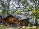 You'll love this vacation rental cabin's serene lakefront location!