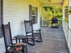 Relax on the home's spacious 3-side porch and listen to the sounds of nature