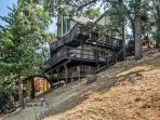 This massive Lake Arrowhead cabin has 3 levels and 2 spacious decks, complete with marvelous views!