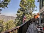 Relax on the deck and take in the phenomenal scenery.