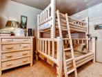 The kids will love the bunk beds