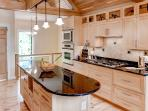 You and your companions will love cooking in the custom-designed fully equipped kitchen.