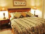 Queen Bedroom + TV