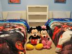 6 of 7 spacious bedroom. Kissimmee, Disney Rentals