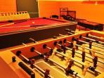 Pool Table and Fooseball