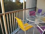 Screened Patio by the Sunset