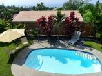 You'll have your own private pool in Kailua-Kona!