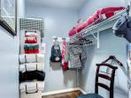 There's plenty of space for all your Alabama gear!