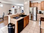 Prepare your favorite home cooked meals in the fully equipped kitchen.