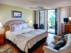 Escape to the peaceful master bedroom.