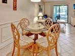 Spend some time around the lovely dining room table