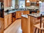 Prepare your favorite meals in the beautiful fully equipped kitchen.