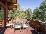 Spend countless hours enjoying a bird's eye view of the natural splendor from the spacious private deck.