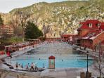 Minutes away from the famous Glenwood Springs Hot Springs pool!
