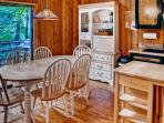 Enjoy your meals around this quaint dining area