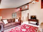 Gather with your companions in the spacious upstairs loft