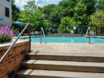 Enjoy included access to the sparkling complex swimming pool