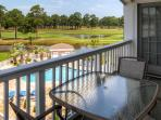 This condo is situated along a pristine golf course!