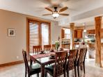 Gather around this dining table to enjoy home cooked meals!