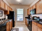 Try out a new southern recipe or a family favorite in this fully equipped kitchen!