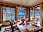Look forward to dining while being surrounded by glorious views