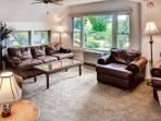 You'll love spending time in the inviting living room.