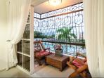 Balcony w/ view to swimming pool & recreational area
